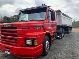 Título do anúncio: Scania 113 -92 basculante 2005 R$190,000,00