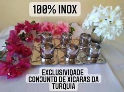 Título do anúncio: Xícaras de cafézinho Em inox