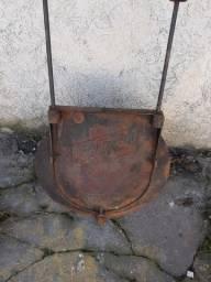 Chapa de disco de campeiro antiga