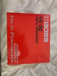 Título do anúncio: Boss ve-20 vocal processor - com fonte original