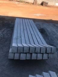 Poste de concreto reto,curvado para alambrado