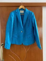 Blazer azul forrado otimo para outono/inverno