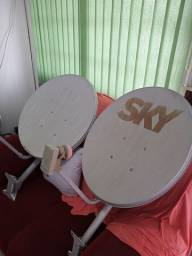 Título do anúncio: Antenas da sky