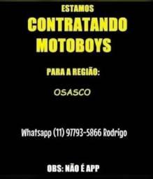Título do anúncio: Vagas Para Motoboys