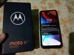 Título do anúncio: Moto E7 Power estado de novo 32GB