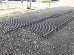 Grade de ferro tubo