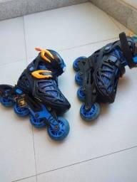 Patins roller derby tamanho 2-5