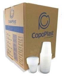 Título do anúncio: Caixa copo descartável 500 ml transparente Copoplast