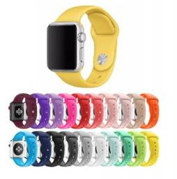 Pulseira Sport Silicone Compatível Applewatch 38mm 40mm 42mm 44mm