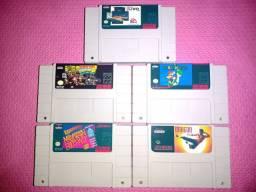 Vendo lote de cartuchos Super Nintendo