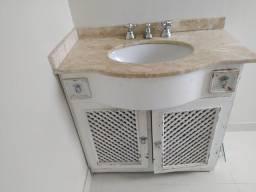 Título do anúncio: Armário e pia banheiro tampo de mármore