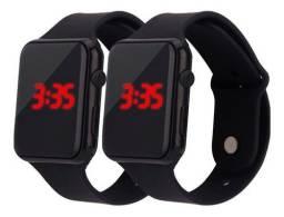 Relógio De Pulso Digital Multifuncional Com Pulseira Led