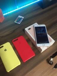 Título do anúncio: iPhone 7 Plus rose 128gb