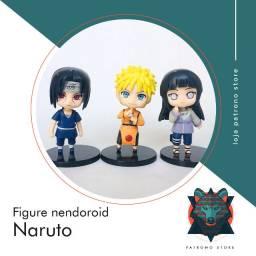 figure action nendoroid anime naruto - itachi , hinata, naruto uzumaki