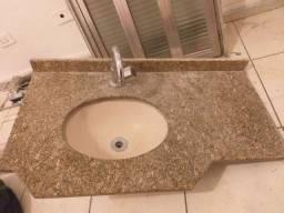 Título do anúncio: Lavatório pia de banheiro 60x40 completa com valvula e torneira barata