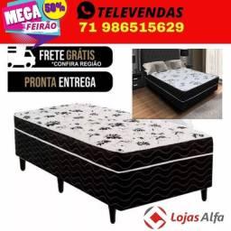 Título do anúncio: Distribuidora Nacional cama box, colchões e móveis