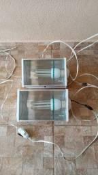 Título do anúncio: 2 refletores com lâmpada