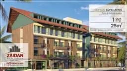Título do anúncio: Oportunidade no Cupe Living - Apartamento 01Qt - Piscina - Bar - Espaço Fitness - Em Porto