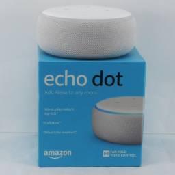 Amazon Alexa Echo Dot 3 geração Speaker Assistente virtual