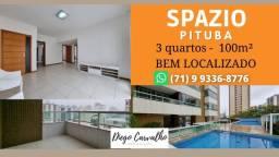 Título do anúncio: Spazio Pituba - Apartamento 3 quartos Pituba- Viva em alto Padrão - (R10)