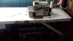 Maquina de costura - Overlock Industrial 5 fios Com Gabinete