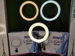 Promoção Ring Light  + tripé