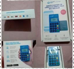 Título do anúncio: Máquina de cartão do mercado pago