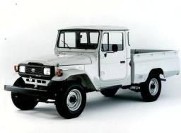 Caçamba Toyota Bandeirante modelo original (Cabine dupla, cabine simples)