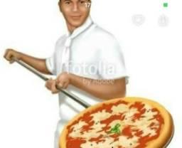Pizzaria contrata pizzaiolo