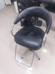 Cadeira de cabeleireiro hidráulica