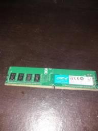 Ddr4 2400mhz Crucial 1.2v Cl15