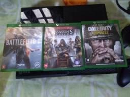 Xbox one 500 gb completo
