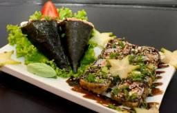 Restaurante em Aracaju da culinária japonesa, em funcionamento, com clientela formada