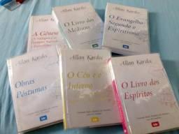 Coleção livros alan kardec