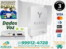 Amplimax Elsys Antena E Modem Externo 4g Para Voz E Dados Rural