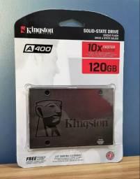 SSD Kingston 120GB lacrado A400