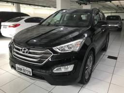 Hyundai Santa Fe, 7 lugares, completa! Ainda na garantia e podendo ser financiada em 60x - 2015