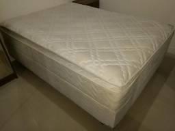 Conjunto colchão e cama box
