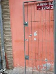 Portão ferro chato nunca foi usado