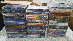 Coleção com mais de 60 DVDs