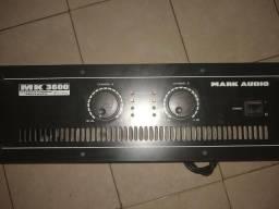 MK 3600 Amplificador de Potência MK3600 - Mark Audio