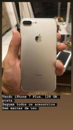 IPhone 7 Plus - 128gb prata