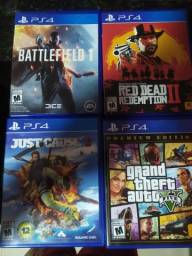 PS4 1 TB - 4 jogos