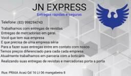 JN EXPRESS ENTREGAS rápidas