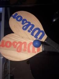 Raquete Frescobol Wilson Nova Original
