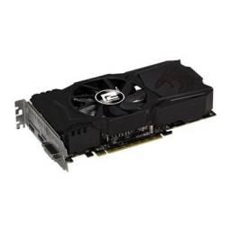 Placa de video power color Rx550 4gb/128bits Gddr5