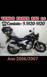 Vendo FAZER 250 cc - 2007