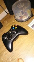 Vendo um Xbox 360 com kinect e 6 jogos