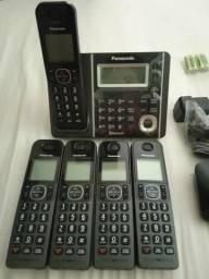 Telefone s/ fio Panasonic