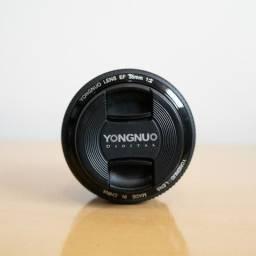 Lente Yongnuo 35mm para Canon